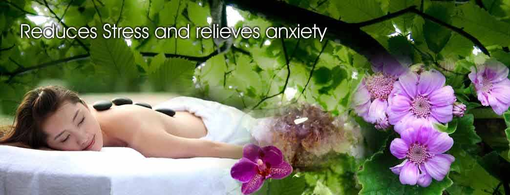 Reduces stress and relieves anxiety